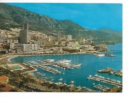 MONACO : Le PORT, LA PISCINE Et Monté-Carlo / CPM 148 écrite Datée 1979 / TBE - Harbor