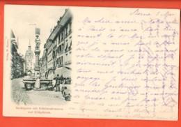 KAL-29 Bern Marktgasse  Belebt. Gelaufen Am 5.5.1899 Nach Paris Pionier - BE Berne