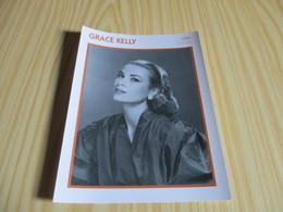 Fiche Cinéma - Grace Kelly. - Fanartikel