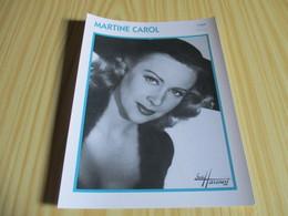Fiche Cinéma - Martine Carol. - Fanartikel