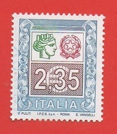 2004 (2738) Alto Valore 2,35 Eu Scritta Inferiore I.P.Z.S.SpA Roma- Leggi Il Messaggio Del Venditore - 6. 1946-.. Republik