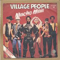 "7"" Single, Village People - Macho Man - Disco, Pop"