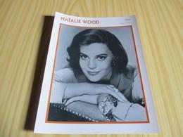Fiche Cinéma - Natalie Wood. - Fanartikel