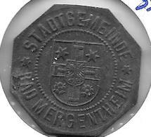 *notgeld  Mergentheim 10  Pfennig 1918 Zn  330.6 - [ 2] 1871-1918 : Imperio Alemán