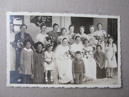 Group Wedding - Brides ( Old Photopostcard ) - Huwelijken