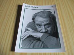 Fiche Cinéma - Ugo Tognazzi. - Cinemania