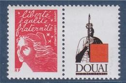 = Timbre Marianne Luquet Du 14 Juillet YT N°3417a Neuf Personnalisé Gommé Papier & Gomme Mate Logo Privé - France