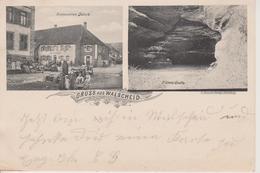 57 - WALSCHEID - GRUSS AUS 2 VUES - RESTAURANT DITSCH - Autres Communes
