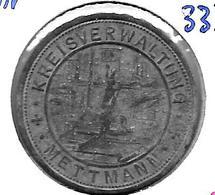 *notgeld   Mettmann 50 Pfennig 1917 Zn  333.3b - [ 2] 1871-1918 : German Empire