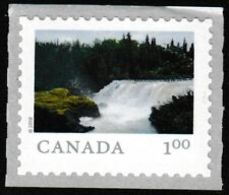 """CANADA  2018  3070   FROM FAR  & WIDE, Pisew Falls Provincial Park    Large COILS """"P"""" Rate - Roulettes"""