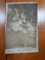 1901 FOTOGRAFIA PHOTO - RITRATTO DONNE NOVEIS CAPRILE BIELLA - YOUNG WOMEN GROUP - Personnes Anonymes