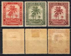 RUANDA URUNDI - 1942 - PALMA DA OLIO - MH - Ruanda-Urundi