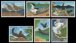 Vanuatu 1997 - Mi-Nr. 1038-1043 ** - MNH - Vögel / Birds - Vanuatu (1980-...)