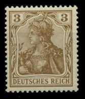D-REICH GERMANIA Nr 69a Postfrisch Gepr. X6D7D82 - Deutschland
