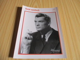 Fiche Cinéma - Jean Marais. - Fanartikel