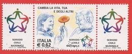 2003 (2673) Il Servizio Civile Nazionale DOPPIA BANDELLA - Leggi Il Messaggio Del Venditore - 6. 1946-.. Repubblica