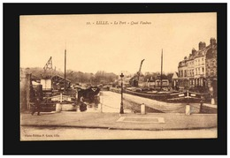 P Lennis 31 - Lille - Le Port Quai Vauban - Lille