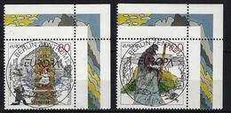 BUND - Mi-Nr. 1915 + 1916 Rechte Obere Ecke Gestempelt - [7] République Fédérale