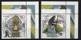 BUND - Mi-Nr. 1915 + 1916 Rechte Obere Ecke Gestempelt - BRD