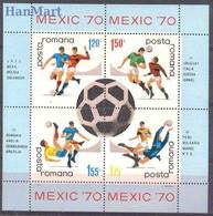 Romania 1970 Mi Bl 75 MNH ( ZE4 RMNbl75 ) - 1970 – Mexique