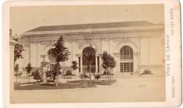 AIX LES BAINS 1852  - Photo Cdv DEMAY L établissement Thermal - Antiche (ante 1900)