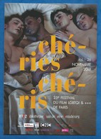CPM  CHERIES CHERIS 25 ème Festival Du Film LGBTQI ( Gay Lesbien )  Paris MK2 - Cinema
