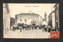 71 - IGÉ - Place Centrale - 1913 ,#71/001 - France