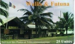 Wallis Et Futuna Telecarte Telecard Phonecard  WF22 1999 Service Telecommunication Poste Drapeau Ut TBE Avec Numero - Wallis And Futuna