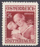 AUSTRIA - 1937 - Yvert 495 Nuovo MNH, Come Da Immagine. - Nuovi