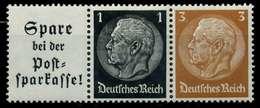 D-REICH ZUSAMMENDRUCK Nr W94 Postfrisch 3ER STR X7A829E - Se-Tenant