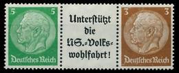 D-REICH ZUSAMMENDRUCK Nr W74 Postfrisch 3ER STR X7B7D5E - Se-Tenant
