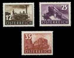 ÖSTERREICH 1937 Nr 646-648 Ungebraucht X89C7EE - 1918-1945 1. Republik