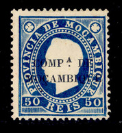 ! ! Mozambique Company - 1892 D. Luis 50 R - Af. 06g - No Gum - Mozambique