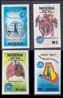 1992Nigeria584-87bImperf. / MEDICINE Rare - Nigeria (1961-...)
