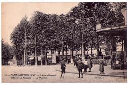 6239 - Paris ( 16e ) - Paris-Auteuil ( La Rue D'Auteuil Et La Rue La Fontaine ) , Le Marché - N°96 - éd. L.T. - - Arrondissement: 16