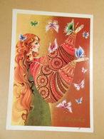 Postcard USSR 1989. 8 March. Author M. Velichkina - Fête Des Mères