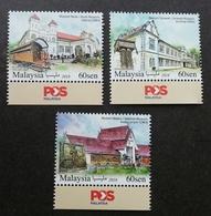 Malaysia Historical Museums 2018 Museum Art Artifacts Train Coach (stamp Logo) MNH - Malaysia (1964-...)