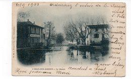 84 - L'ISLE Sur SORGUE - Le Bassin - 1901 (I34) - L'Isle Sur Sorgue