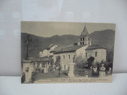 DAUPHINE  38 ISÈRE ROUTE DE GRENOBLE AU BOURG D'OISANS L'EGLISE DE SECHILIENNE PRES VIZILLE CPA Papeterie Des Alpes - Bourg-d'Oisans