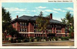 South Dakota Aberdeen Central High School 1947 Curteich - Aberdeen