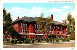 South Dakota Aberdeen Central High School Curteich - Aberdeen