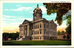 South Dakota Aberdeen Court House Curteich - Aberdeen