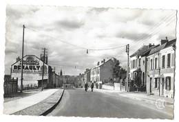 MOHON ARDENNES - L AVENUE CARNOT, PUBLICITE AUTOMOBILES RENAULT, EDITIONS ATMO BOULOGNE SUR SEINE, VOIR LE SCANNER - France