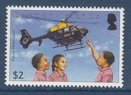 Cayman Islands - CHILDREN / POLICE HELICOPTER 2012 MNH - Iles Caïmans