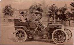 ! Alte Fotokarte Berlin Rixdorf, Automobil, 1907, Photo, Oldtimer, Car, Voiture - Rixdorf