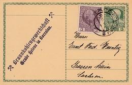 Bergbau: Braunkohlegewerkschaft Grube Helene In Boreslau  1916 - Sonstige - Europa