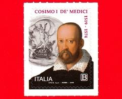 Nuovo - MNH - ITALIA - 2019 - 500 Anni Della Nascita Di Cosimo I De' Medici – Ritratto - B - 6. 1946-.. Repubblica