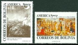 BOLIVIA 1992 AMERICA-UPAEP, DISCOVERY OF AMERICA** (MNH) - Bolivia