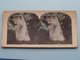 21 - The FATHER'S CONGRATULATIONS ( Carte STEREO Card PHOTO ) Zie / Voir / See Photos ) ! - Photos Stéréoscopiques