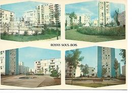 93 - ROSNY SOUS BOIS -  Les Marnaudes - Divers Aspects  (4 Vues) - Rosny Sous Bois